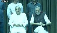 Nitish, Sushil Modi say 'development of Bihar top priority'