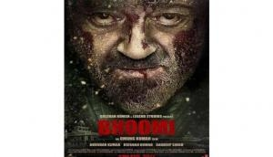 Sanjay Dutt's bloodied look is intriguing in new 'Bhoomi' poster