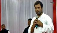 Rahul in Lucknow to demand compensation for Amethi farmers