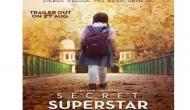 आमिर ख़ान की 'सीक्रेट सुपस्टार' का ट्रेलर लॉन्च