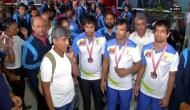 Upset with govt., Indian Deaflympics team refuse to leave airport