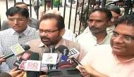 Mukhtar Abbas Naqvi booked for calling Azam Khan 'Mogambo'