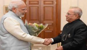 Full text: Pranab Mukherjee dubbed PM Modi's letter as 'heart touching'