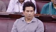 Sachin Tendulkar makes debut in Rajya Sabha amid sloganeering, pitches for right to play
