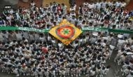 Students send 100-feet long Rakhi for Indian Soldiers