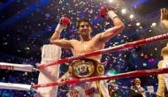 मुक्केबाज विजेंदर ने रिंग में चीनी बॉक्सर जुल्पिकार को मात देकर जीता खिताब