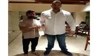When Kohli met 'Virat' Khali!