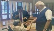 Raksha Bandhan: 103-yr-old widow ties rakhi to PM Modi