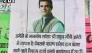 'Missing posters' of Rahul Gandhi pop up in Amethi