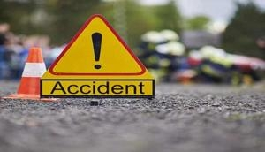 1 died, 15 injured as truck collides with buses