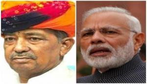 PM Modi expresses condolence over demise of former Union minister Sanwar Lal Jat