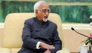Hamid Ansari playing politics by making remarks on sensitive issues: BJP