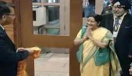 Sushma Swaraj arrives in Kathmandu for BIMSTEC Summit
