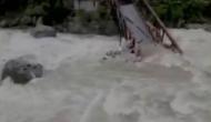 Video: उत्तराखंड में बादल फटने से पल भर में दिखा जलप्रलय का मंज़र