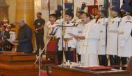 वेंकैया नायडू ने ली देश के उपराष्ट्रपति की शपथ