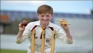 13-year-old Luke Robinson bags six wickets in an over!