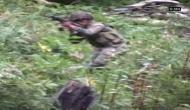 कश्मीर: सेना के अधिकारी की हत्या में शामिल आतंकवादी ढेर