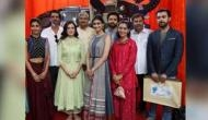 Dia Mirza, Arjun Rampal and other Bollywood celebrities at the launch of 'Gaj Yatra'