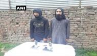 कश्मीर: सुरक्षाबलों को मिली बड़ी कामयाबी, हिजबुल के 2 आतंकी गिरफ़्तार