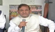 Sharad Yadav announces 'Sajha Virasat Bachao Sammelan' to be held tomorrow in Delhi