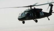 अमेरिकी सेना का यूएच-60 ब्लैक हॉक हेलीकॉप्टर हुआ क्रैश