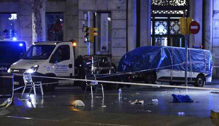 Spain reeling from three separate terrorist attacks; 13 killed and over 100 injured