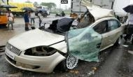 Three killed in truck-car collision on Mumbai-Ahmedabad highway