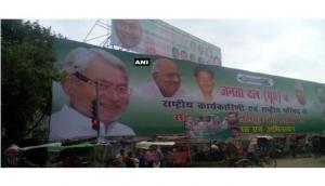 Poster war in Bihar ahead of Nitish Kumar, Sharad Yadav's meetings