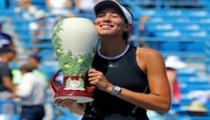 Cincinnati winner Muguruza moves into Top 3 of WTA Rankings