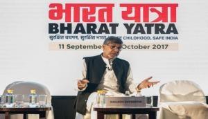 Kailash Satyarthi announces 'Bharat Yatra' on child sexual abuse and trafficking