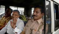 9 साल बाद जेल से रिहा कर्नल पुरोहित सेना की गाड़ी में बैठकर रवाना