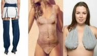 Hairy chest swimsuit to detachable jeans: 5 bizarre clothing items being sold on the Internet!