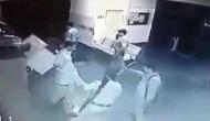 Caught on camera: Toll plaza staff allege Mathura cops of turning into robbers