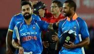 भारत-श्रीलंका वनडेः बारिश ने डाला मैच में खलल, टीम इंडिया की बल्लेबाजी नहीं हुई शुरू