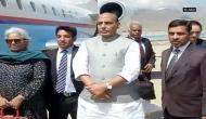 राजनाथ सिंह: मैं कश्मीर में सभी से वार्ता के लिए तैयार