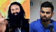 Rape accused Gurmeet Ram Rahim claims he taught cricket to Indian captain Virat Kohli