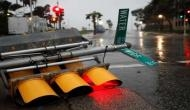 Hurricane Harvey knocks down trees, power poles in Texas