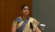 Smriti Irani urges young civil servants to be custodians of Indian citizens