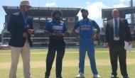 भारत को लगा झटका, धवन पवेलियन लौटे