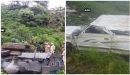 सेना के वाहन से टकराई कैब, 2 की मौत