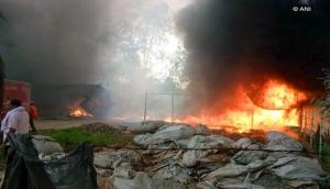 Fire breaks out at Raigarh's plastic factory