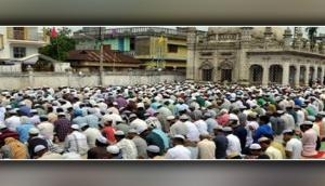 Tripura celebrates 'Eid' with full devotion and congregation