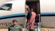 Sushma Swaraj embarks on two-nation visit