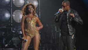 Jay-Z gets crowd to sing 'Happy Birthday' to Beyonce at gig