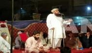 पाकिस्तान के अातंकी मक्की की भारत को धमकी, 'कश्मीर का हल जिहाद से निकलेगा'
