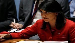 U.N. must take strongest action to deter North Korea: Nikki Haley