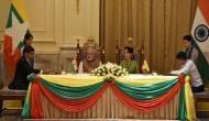 पीएम मोदी का म्यांमार दौरा, भारत और म्यांमार ने किए 11 समझौतों पर हस्ताक्षर