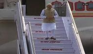 Prime Minister Modi arrives in New Delhi after two-nation tour