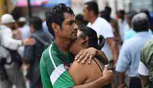 In photos: Mexico hit with magnitude 8.4 quake; strongest in 100 years