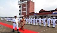 Panaji: Nirmala Sitharam flags off INSV Tarini